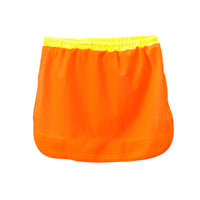 DROMEX ORANGE sun neck protector for Hard Hats - Just Tools Pinetown (PTY) Ltd