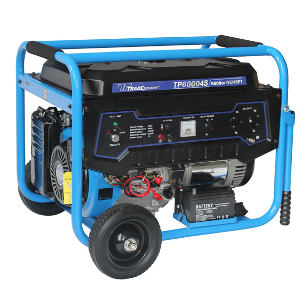 GENERATOR TP 6000 4S-5500W - Just Tools Pinetown (PTY) Ltd