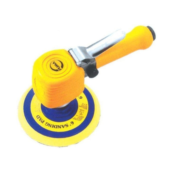 "SANDER 6"" H/D D/A AIR YELLOW P PUAT7015P"