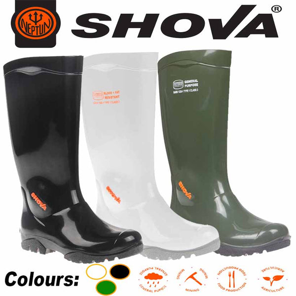 SHOVA GENERAL PURPOSE PVC GUMBOOT - Just Tools Pinetown (PTY) Ltd