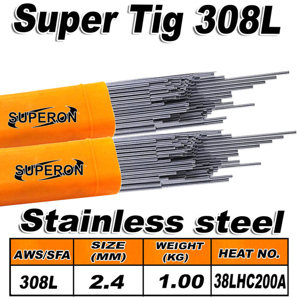 SUPERON TIG WIRE 308L 2.4MM PER KG - Just Tools Pinetown (PTY) Ltd