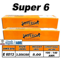 2) SUPERON SUPER 6 3.2MM ELECTRODES 5KG - Just Tools Pinetown (PTY) Ltd