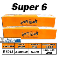 3) SUPERON SUPER 6 4.00MM ELECTRODES 5KG - Just Tools Pinetown (PTY) Ltd