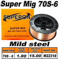 3) SUPERON MIG WIRE 70S-6 MILD STEEL 1.00MM 15KG - Just Tools Pinetown (PTY) Ltd