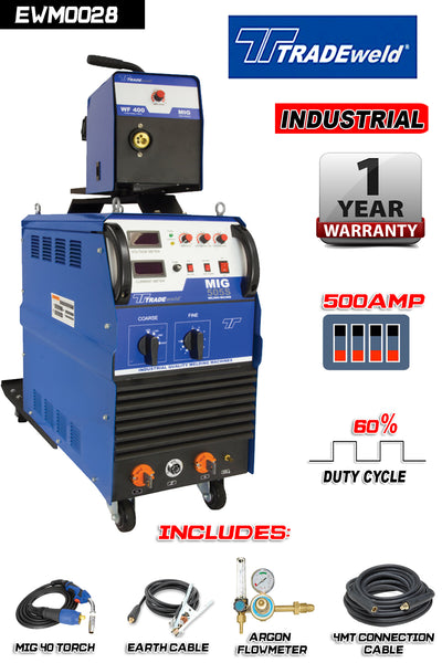 TRADEWELD MIG 505 S  380V - Just Tools Pinetown (PTY) Ltd