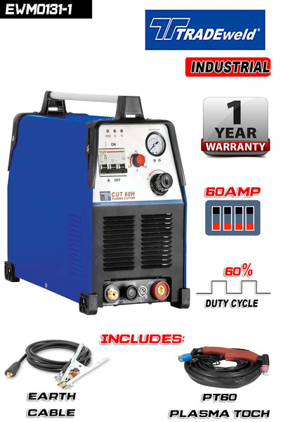 TRADEWELD PLASMA  CUT 60H – 380 V - Just Tools Pinetown (PTY) Ltd