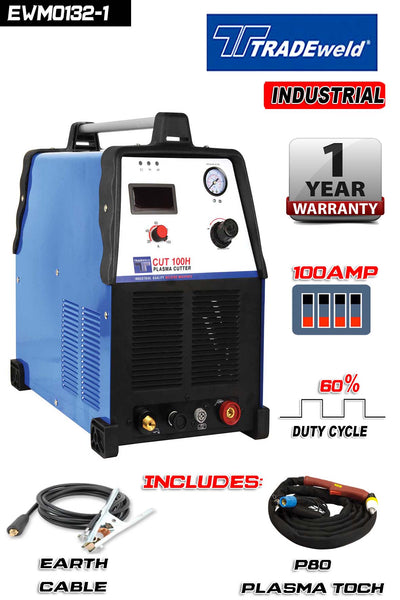 TRADWELD PLASMA CUT 100H – 380 V - Just Tools Pinetown (PTY) Ltd