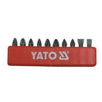"SCREWDRIVER BIT SET - 10PCS - STAR & FLAT - 25 / 1/4"" - Just Tools Pinetown (PTY) Ltd"