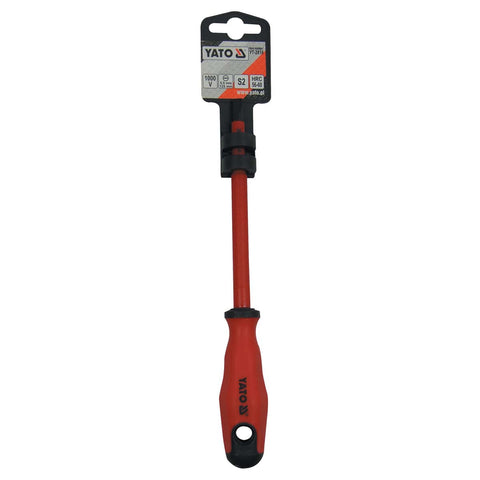 INSULATED SCREWDRIVER - FLAT - 4.0 / 75 - Just Tools Pinetown (PTY) Ltd