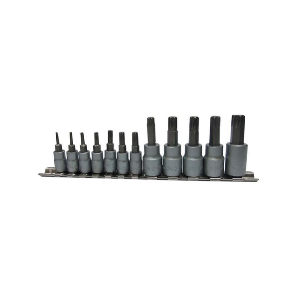 TORX SOCKETS STAR BIT SET - 12PCS