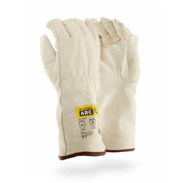 DROMEX A.P.T 51CAL LEATHER ARC GLOVES - Just Tools Pinetown (PTY) Ltd