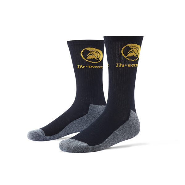 DROMEX NON-ABRASIVE BLACK SOCKS - Just Tools Pinetown (PTY) Ltd