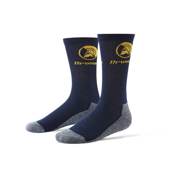 DROMEX NON-ABRASIVE NAVY BLUE SOCKS - Just Tools Pinetown (PTY) Ltd