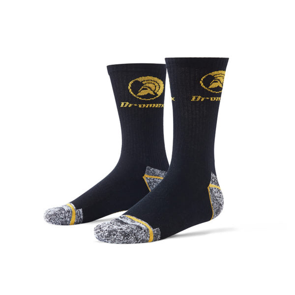 DROMEX BLACK WORK SOCKS - Just Tools Pinetown (PTY) Ltd