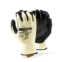 DROMEX LEAF FIBRE SHELL, GLOVE, size 10 - Just Tools Pinetown (PTY) Ltd