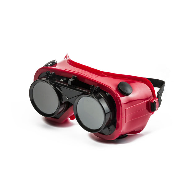 DROMEX FLIP FRONT WELDING GOGGLE - SHADE 5 - Just Tools Pinetown (PTY) Ltd