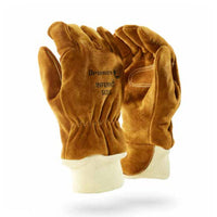 DROMEX INFERNO FIRE FIGHTER GLOVE, leather NFPA, size L - Just Tools Pinetown (PTY) Ltd