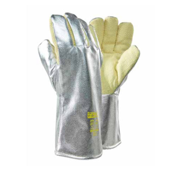 DROMEX ALUMINISED KEVLAR  GLOVES (500 °C), 3544