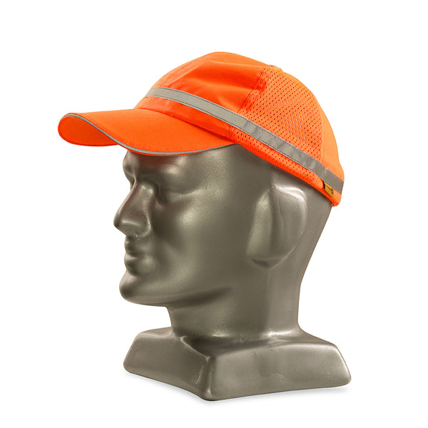 DROMEX ORANGE reflective baseball cap - Just Tools Pinetown (PTY) Ltd