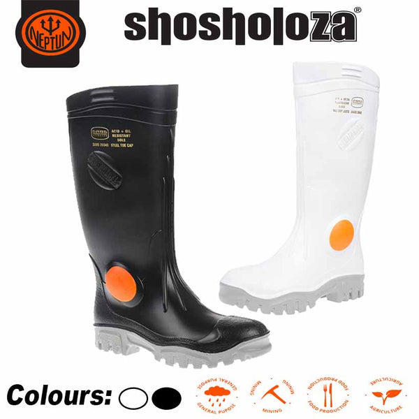 SHOSHOLOZA STEEL TOE CAP GUMBOOT - Just Tools Pinetown (PTY) Ltd