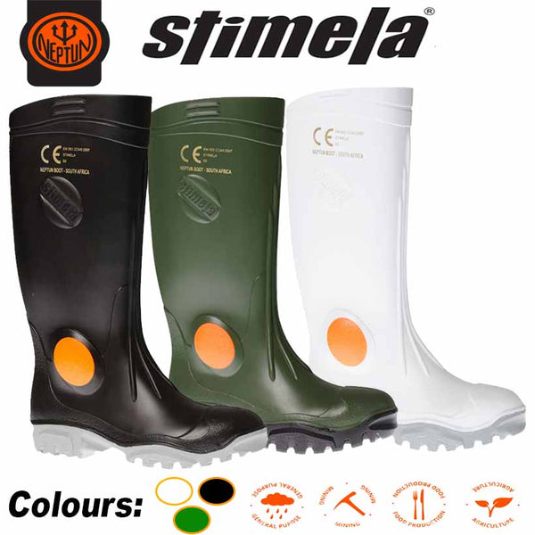 STIMELA STEEL TOE CAP GUMBOOT - Just Tools Pinetown (PTY) Ltd