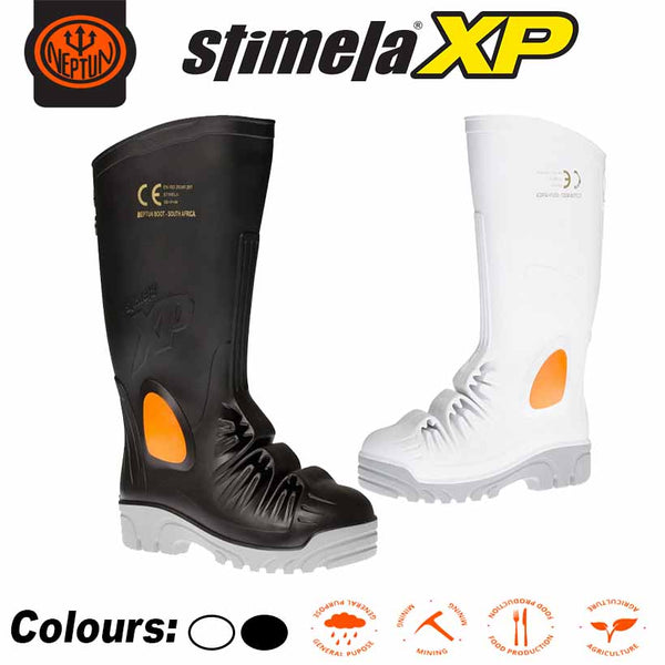 STIMELA XP COMPOSITE TOE CAP,TEXTILE MID SOLE, INTEGRATED METATARSAL PROTECTION GUMBOOT - Just Tools Pinetown (PTY) Ltd