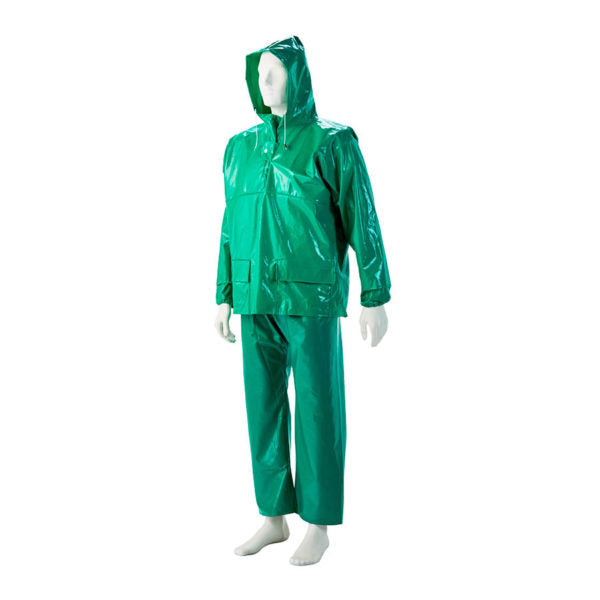 GREEN PVC Storm Jackets, - Just Tools Pinetown (PTY) Ltd
