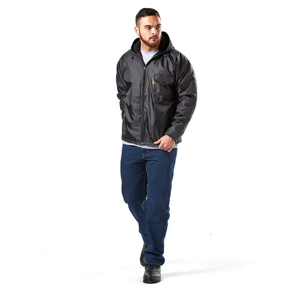 DROMEX STORM LITE Black Jacket, Small to 3XL - Just Tools Pinetown (PTY) Ltd