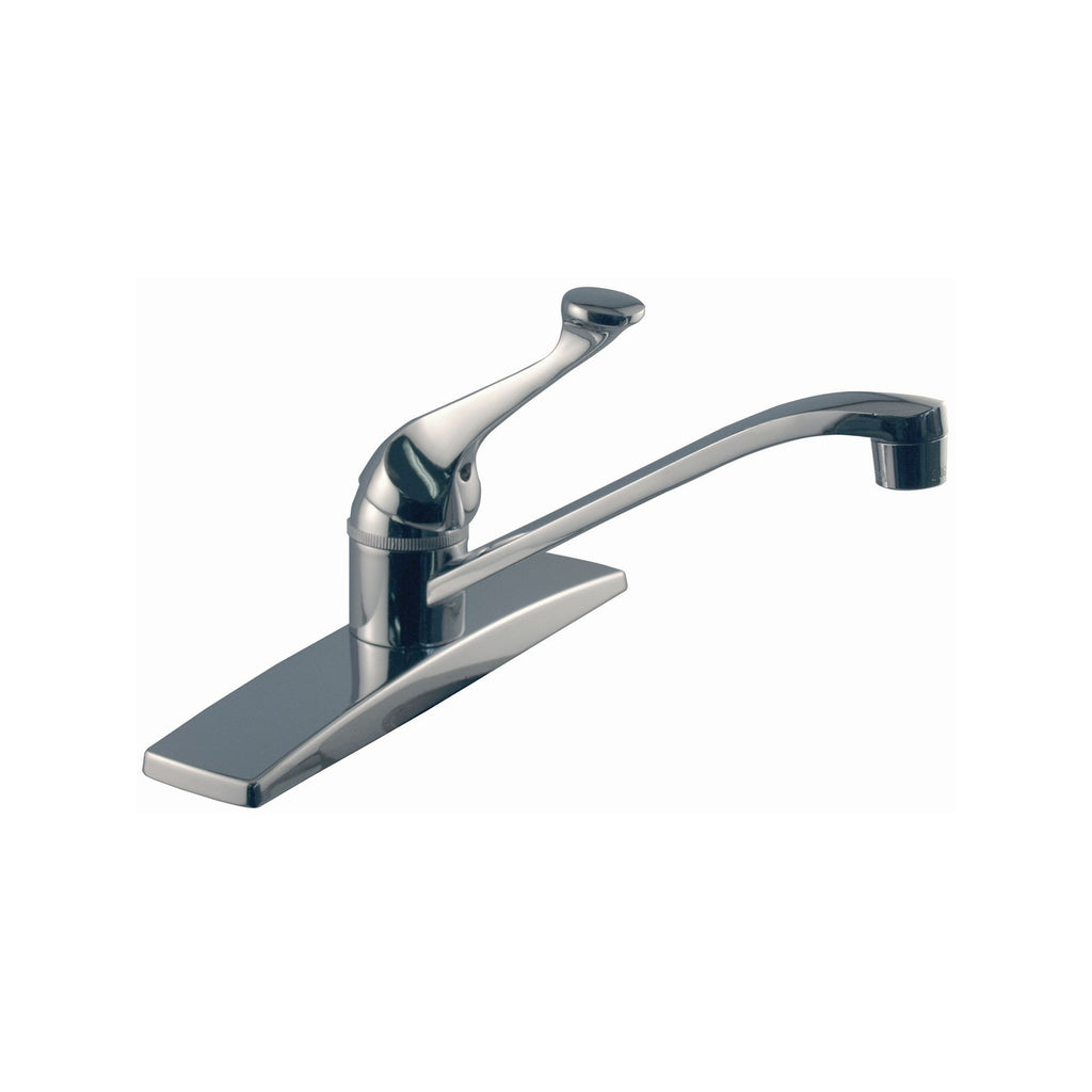 touch stainless faucets foundations delta kitchen ss on com amazon sink single handle dp faucet