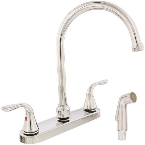 traditional handle sinkcounter struct sink mount chrome kitchen faucet faucets delta type ca counter