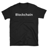 Black BlockchainT-Shirt - Crypto shirts, Crypto t shirts, Cryptocurrency shirts, Crypto Apparel,