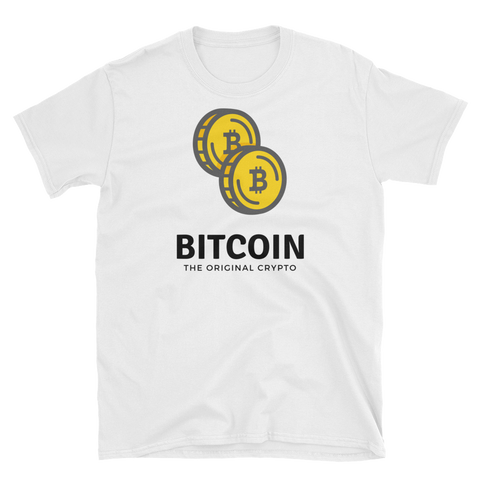 Bitcoin Coins T-Shirt - Crypto shirts, Crypto t shirts, Cryptocurrency shirts, Crypto Apparel,