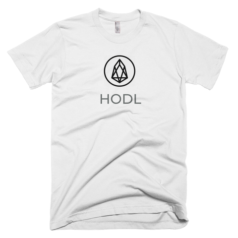 EOS HODL T-Shirt - Crypto shirts, Crypto t shirts, Cryptocurrency shirts, Crypto Apparel,