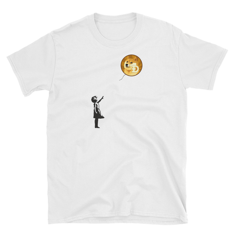 Banksy on Doge T-Shirt - Crypto shirts, Crypto t shirts, Cryptocurrency shirts, Crypto Apparel,