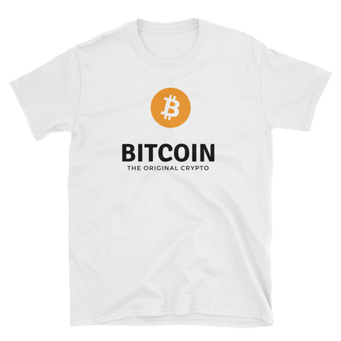 Bitcoin The Logo T-Shirt -  - Crypto shirts, Crypto T-shirts Crypto Clothes, Crypto Apparel, Bitcoin Apparel, Crypto Billionaire