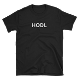 Black HODL T-Shirt - Crypto shirts, Crypto t shirts, Cryptocurrency shirts, Crypto Apparel,