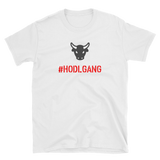 #HODLGANG Bull T-Shirt - Crypto shirts, Crypto t shirts, Cryptocurrency shirts, Crypto Apparel,