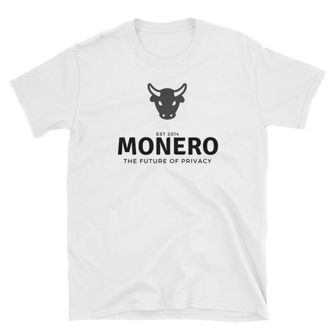 Bullish on Monero T-Shirt -  - Crypto shirts, Crypto T-shirts Crypto Clothes, Crypto Apparel, Bitcoin Apparel, Crypto Billionaire