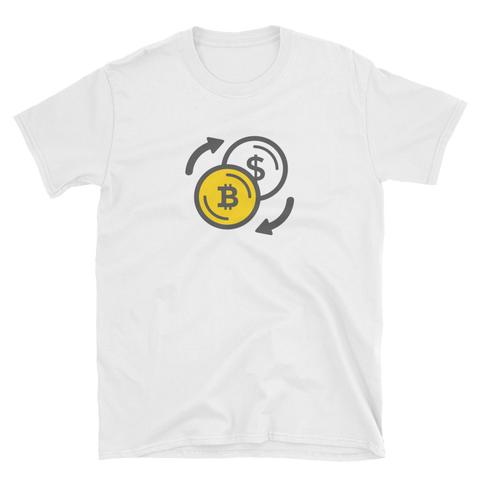 Bitcoin over Fiat T-Shirt -  - Crypto shirts, Crypto T-shirts Crypto Clothes, Crypto Apparel, Bitcoin Apparel, Crypto Billionaire