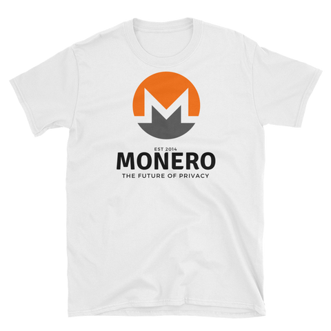 Monero Future T-Shirt -  - Crypto shirts, Crypto T-shirts Crypto Clothes, Crypto Apparel, Bitcoin Apparel, Crypto Billionaire