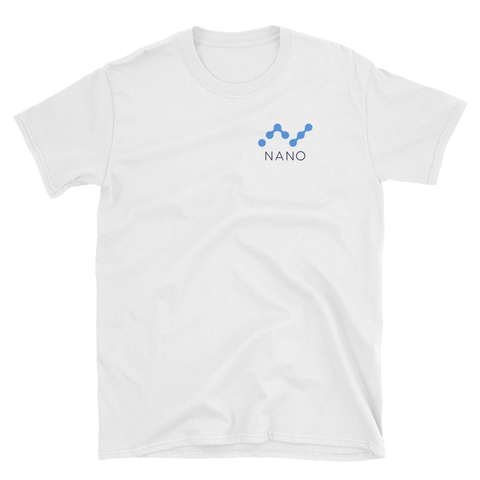 Nano Raiblocks White team T-Shirt - Crypto shirts, Crypto t shirts, Cryptocurrency shirts, Crypto Apparel,