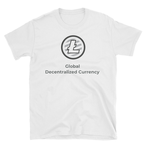 Decentralized Litecoin T-Shirt - Crypto shirts, Crypto t shirts, Cryptocurrency shirts, Crypto Apparel,