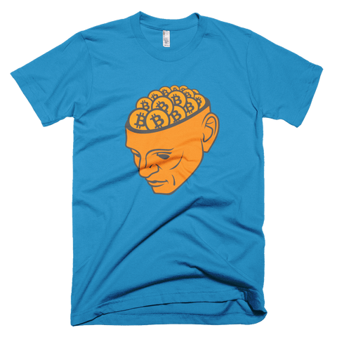 Bitcoin Head T-Shirt - Crypto shirts, Crypto t shirts, Cryptocurrency shirts, Crypto Apparel,