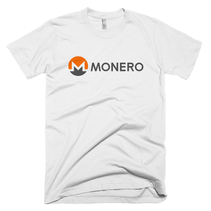 Monero T-Shirt -  - Crypto shirts, Crypto T-shirts Crypto Clothes, Crypto Apparel, Bitcoin Apparel, Crypto Billionaire