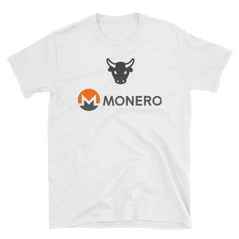 The Bull Monero T-Shirt -  - Crypto shirts, Crypto T-shirts Crypto Clothes, Crypto Apparel, Bitcoin Apparel, Crypto Billionaire