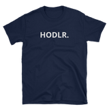 Black HODLR. T-Shirt -  - Crypto shirts, Crypto T-shirts Crypto Clothes, Crypto Apparel, Bitcoin Apparel, Crypto Billionaire