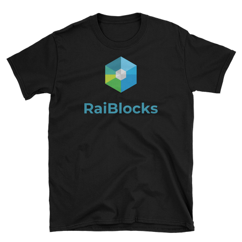 RaiBlocks T-Shirt -  - Crypto shirts, Crypto T-shirts Crypto Clothes, Crypto Apparel, Bitcoin Apparel, Crypto Billionaire