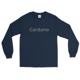 White Cardano T-Shirt - Crypto shirts, Crypto t shirts, Cryptocurrency shirts, Crypto Apparel,