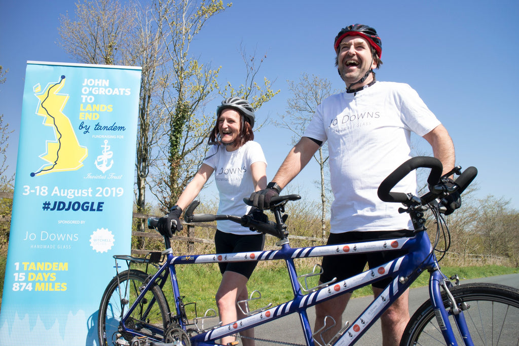 #JDJOGLE - John O'Groats to Lands End on a Tandem