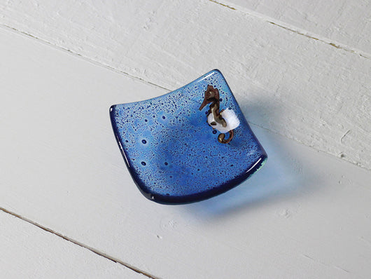 Photo of Azul Seahorse Square Jewellery Dish